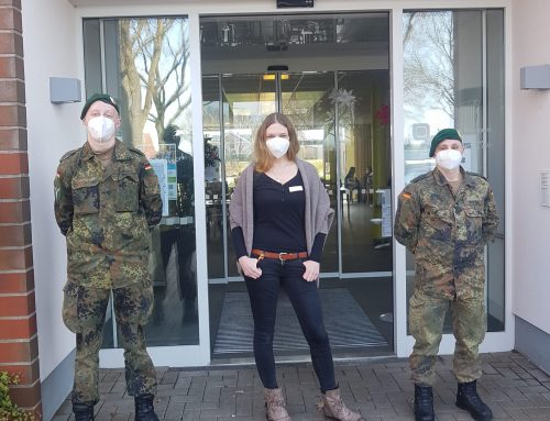 """Unterstützung der Bundeswehr für das """"Jan-Reiners-Seniorenzentrum"""" der Residenz-Gruppe"""