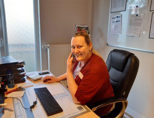 Es ist einfach passiert: Trainee-Einrichtungsleiterin Stephanie Steffens in der Seniorenresidenz am Rosenberg der Residenz-Gruppe