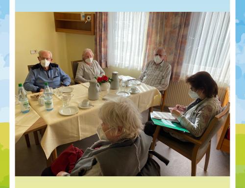 Heimbeiratssitzung in der Seniorenresidenz Haus am Brunnen