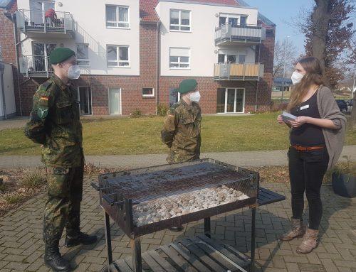 Unterstützung der Bundeswehr für die Jan-Reiners-Seniorenresidenz der Residenz-Gruppe