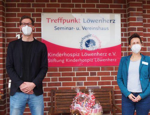 """Residenz-Gruppe """"Haus am Park"""" in Delmenhorst spendet an das Kinderhospiz Löwenherz"""