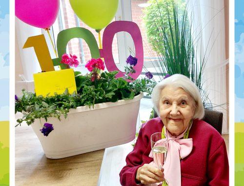 Herzlichen Glückwunsch zum 100. Geburtstag!