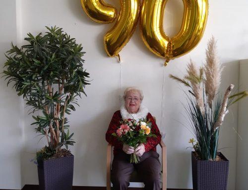"""Ein 90. Geburtstag in der in der Residenz-Gruppen Seniorenresidenz """"Am Burgberg"""""""