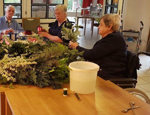 """""""Der Mai ist gekommen"""" – Residenz-Gruppe Seniorenresidenz """"Haus am Brunnen"""""""
