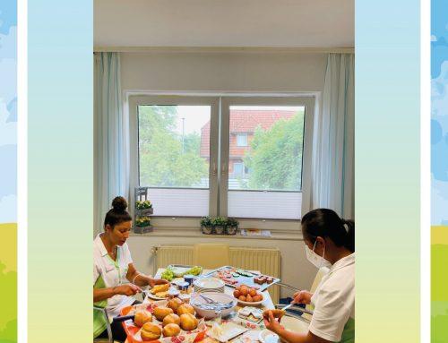 Neuer Pausenraum für die Mitarbeiter vom Residenz-Gruppe Haus am Geestfeld in Weyhe