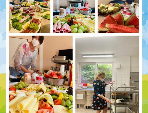 Mitarbeiterfrühstück im Haus am Geestfeld