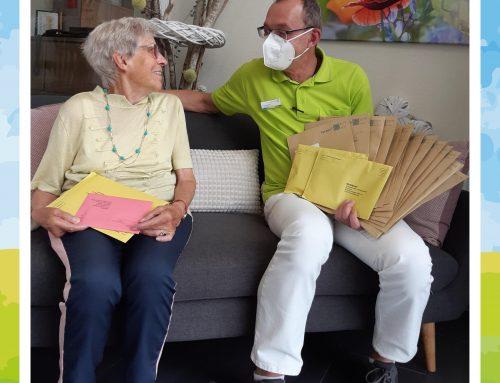 Briefwahl für Senioren in der Seniorenresidenz Am Burgberg