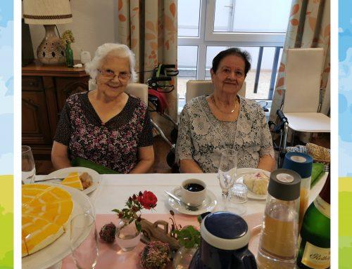 Geburtstagskaffee in der Seniorenresidenz An den Meerwiesen